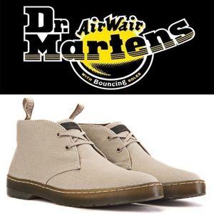 Dr Marten Canvas Mayport Desert Boots In Sand